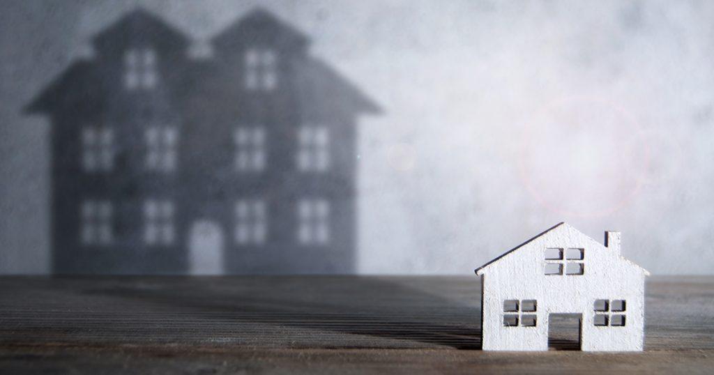 House stylized photo