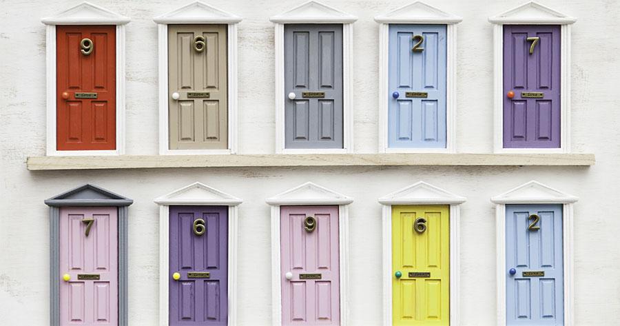 Front door colors photo